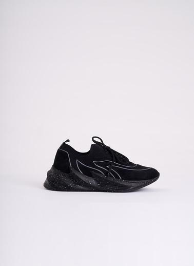 Mizalle Spor Ayakkabı Siyah